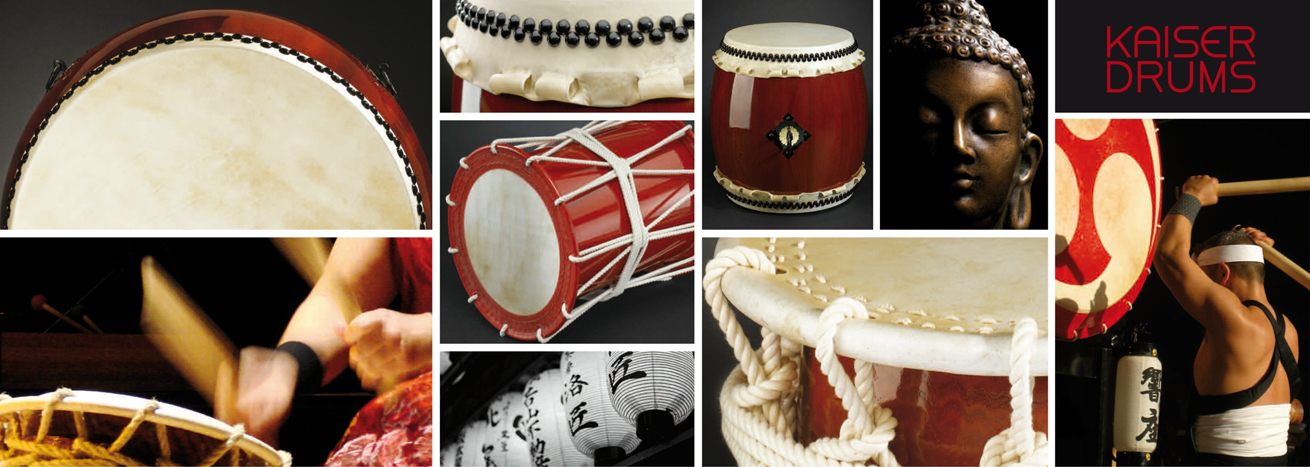 Japanese Taiko Drums from KAISER DRUMS