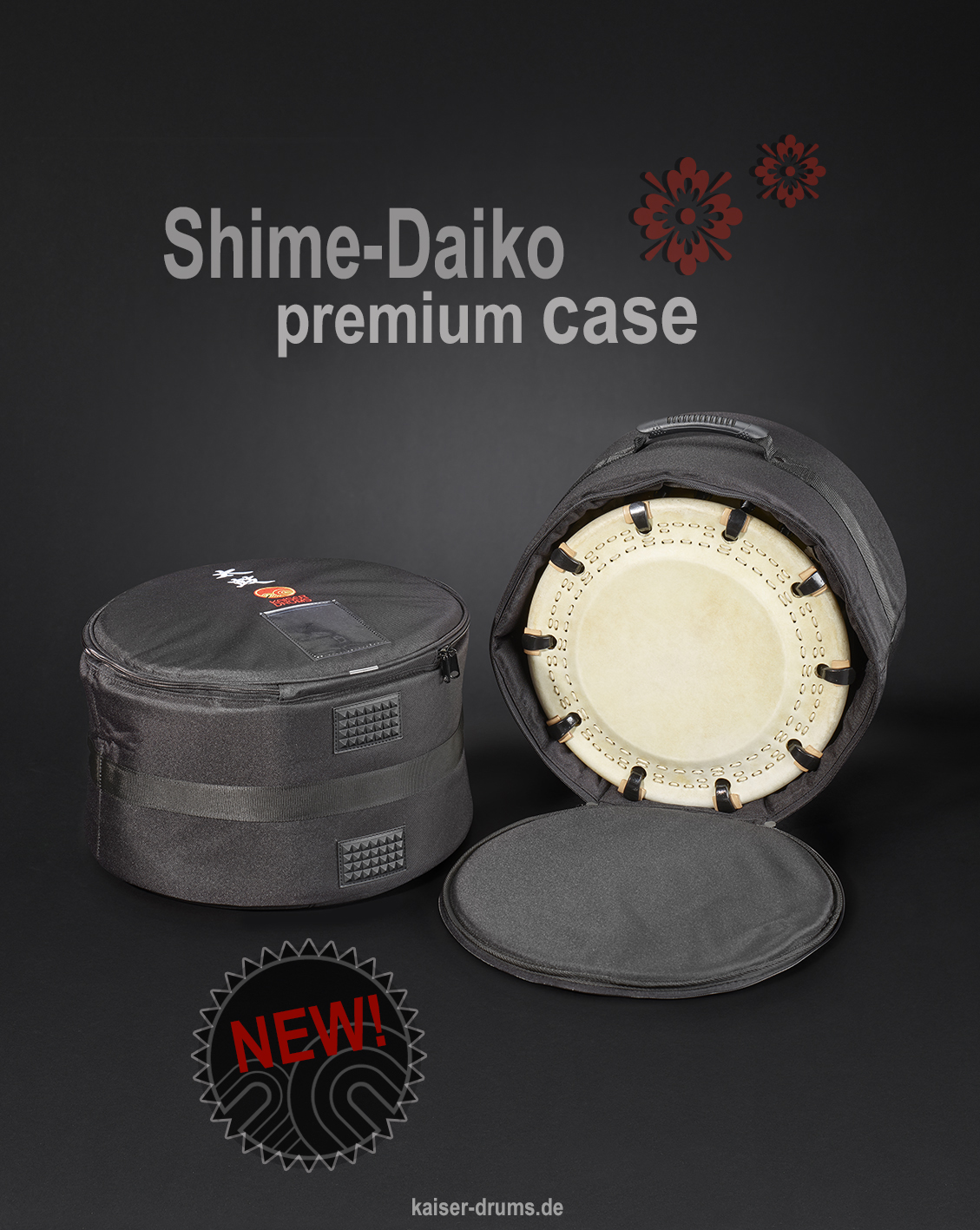 New Shime-Daiko premium case from KAISER DRUMS